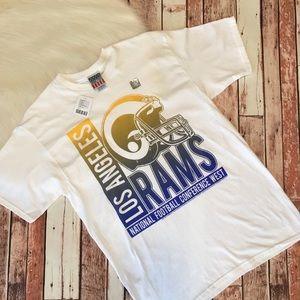 Los Angeles Rams Football T-Shirt Medium NWT